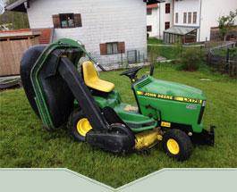 Grünanlagen Pflege, Garten Pflege, Rasen mähen